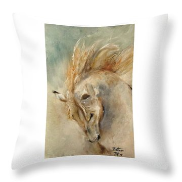 In Humble Praise Throw Pillow
