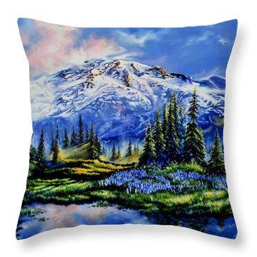 In Joyful Harmony Throw Pillow