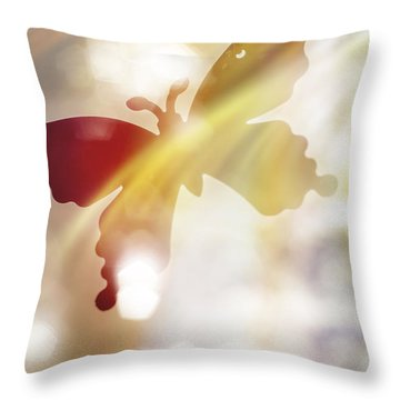 Wing Back Throw Pillows