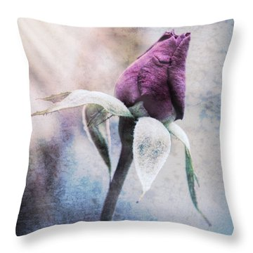 In Love Throw Pillow by Cathy Donohoue