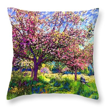 Magpies Throw Pillows