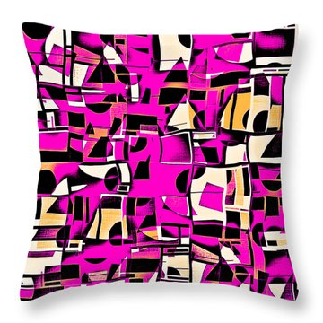 In Medias Res Iv Throw Pillow