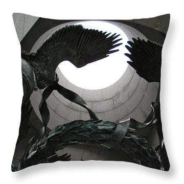 In Memorial Throw Pillow by Nelson F Martinez