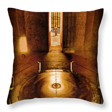 Paris, France - In Memory Throw Pillow
