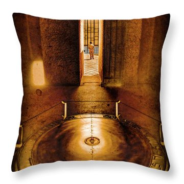 Paris, France - In Memory Throw Pillow