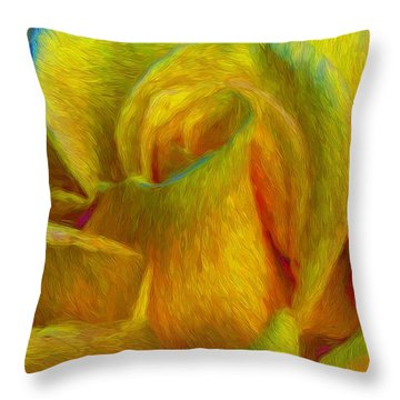 In Memory Of Vincent Throw Pillow