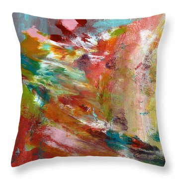 Expressionist Throw Pillows