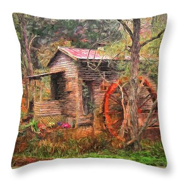 In My Dreams Throw Pillow