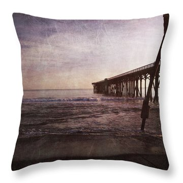 In My Dreams I'm Always With You Throw Pillow by Laurie Search