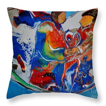 In One Accord Throw Pillow