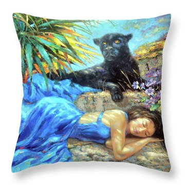 In One's Sleep Throw Pillow