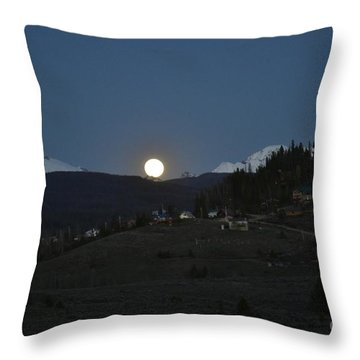 In Or Little Town Throw Pillow