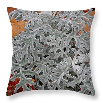 In Perfect Form Throw Pillow