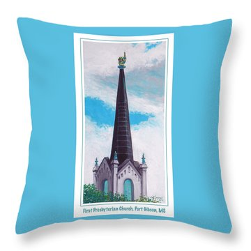 In Port Gibson Ms Throw Pillow