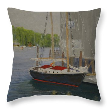 In Port Throw Pillow