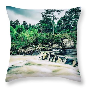 In Retreat Throw Pillow