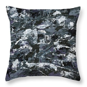 In Rubble Throw Pillow