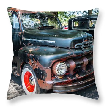 In Rust We Trust Throw Pillow