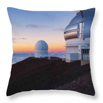 Throw Pillow featuring the photograph In Search Of Gemini by Ryan Manuel