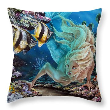 In Search Of... Throw Pillow