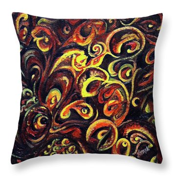 In Search Of  Ultimate Truth Throw Pillow
