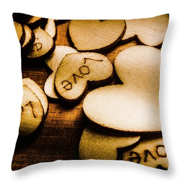 In Sentiment Of Contrasts Throw Pillow