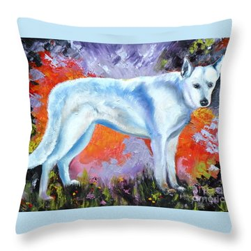 In Shepherd Heaven Throw Pillow