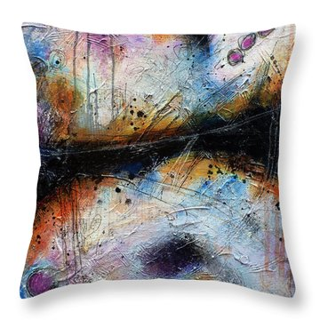 In Spite Of Myself Throw Pillow