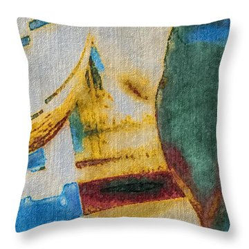 In/still Throw Pillow by William Wyckoff