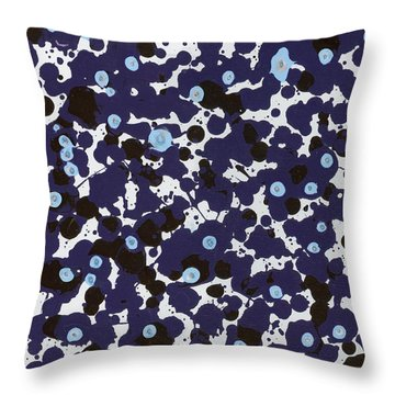 In Tears Throw Pillow