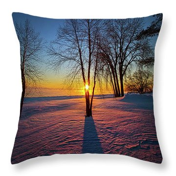 Throw Pillow featuring the photograph In That Still Place by Phil Koch