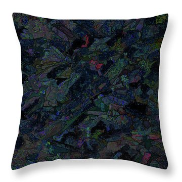 Throw Pillow featuring the photograph In The Abstract by Lewis Mann