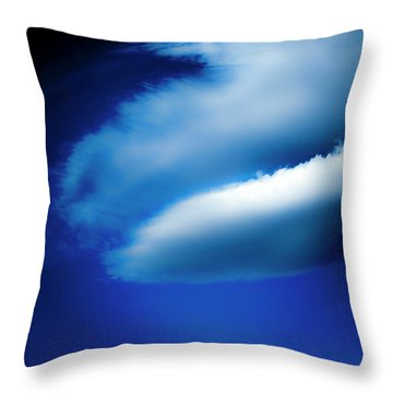 Throw Pillow featuring the photograph In The Air by Eric Christopher Jackson