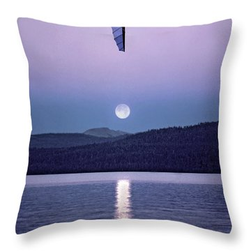 In The Air Tonight Throw Pillow