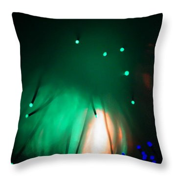 In The Begining Throw Pillow