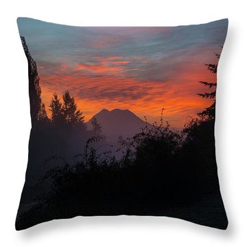 Throw Pillow featuring the photograph In The Beginning by Tikvah's Hope