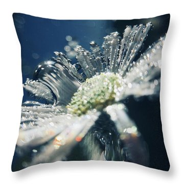 In The Big Blue Throw Pillow