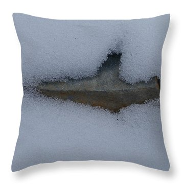 In The Deep Throw Pillow