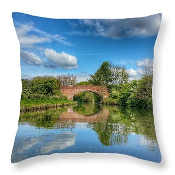 In The Dream Throw Pillow by Isabella F Abbie Shores FRSA