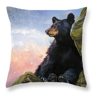 In The Eyes Of Innocence  Throw Pillow