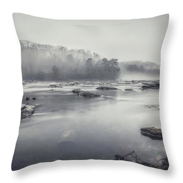 In The Fog  Throw Pillow