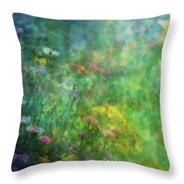 In The Garden 2296 Idp_2 Throw Pillow