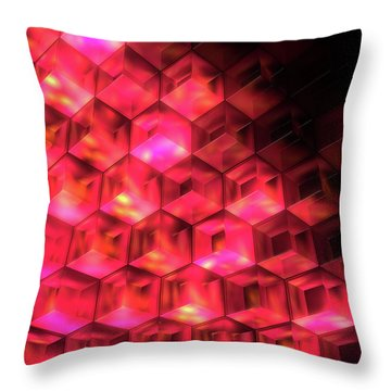 In The Halls Of Hades Throw Pillow