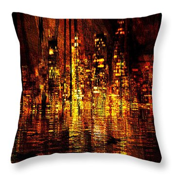 In The Heat Of The Night Throw Pillow