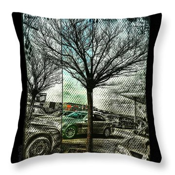 In The Here And There Throw Pillow by Mimulux patricia no No