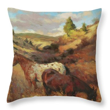 In The Hollow Throw Pillow