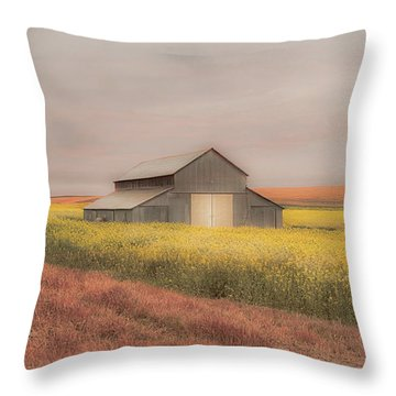 In The Horizon Throw Pillow