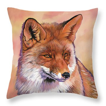 In The Know Throw Pillow