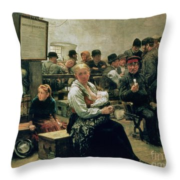 In The Land Of Promise Throw Pillow
