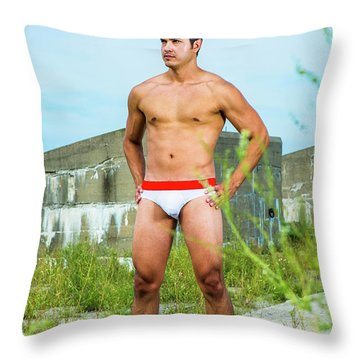 In The Land Throw Pillow